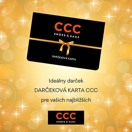 803c811ea79 Darčeková karta CCC je ideálny darček pre všetkých!